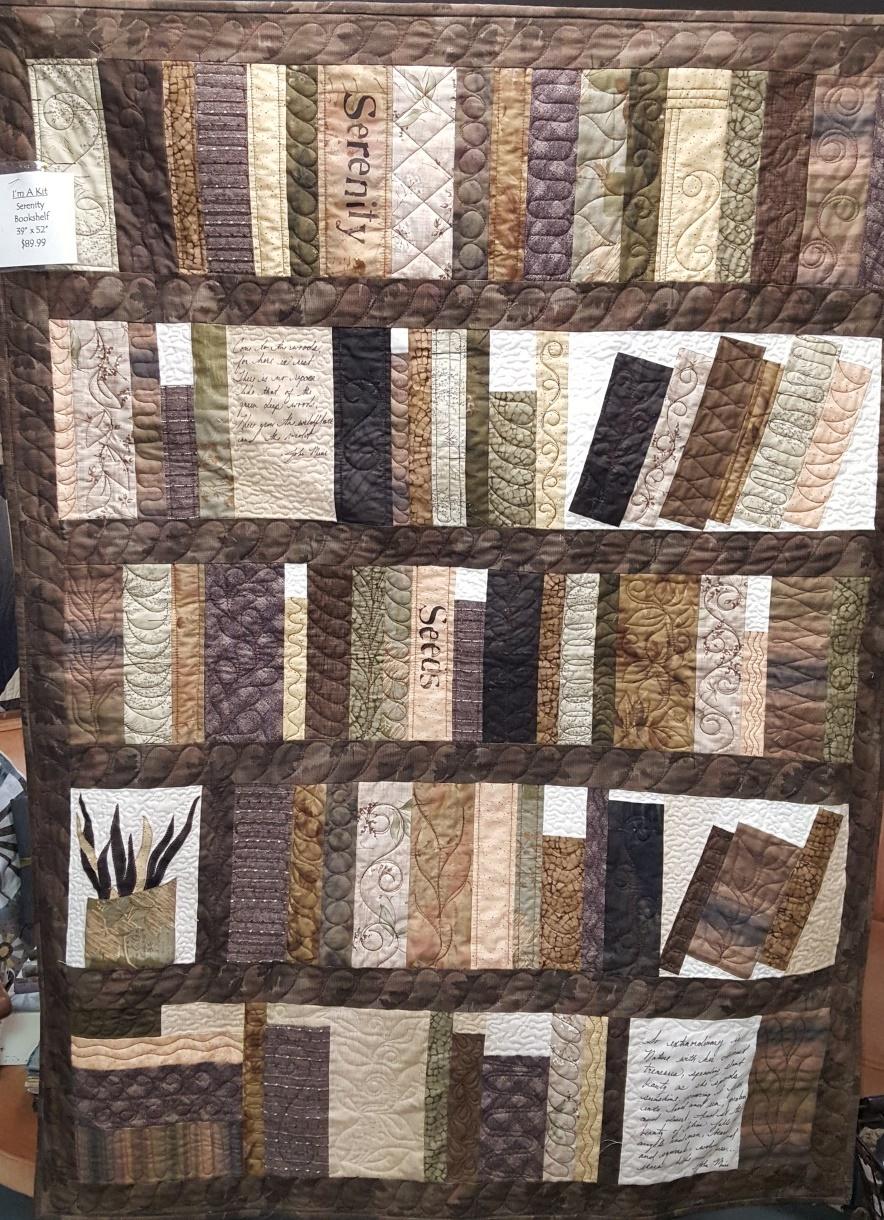 The Bookshelf Quilt Pattern