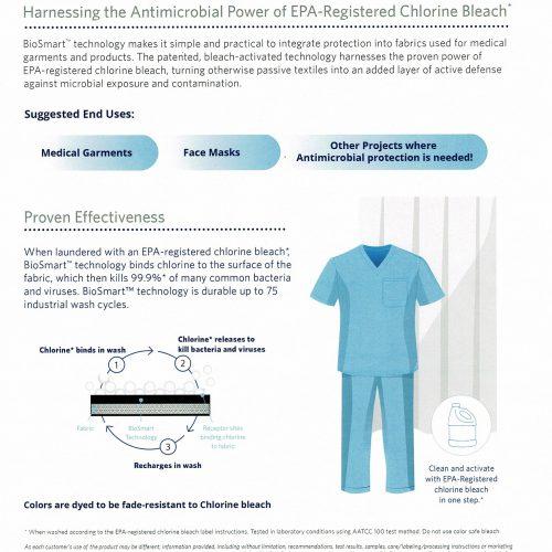 Biosmart Antimicrobial Cloth