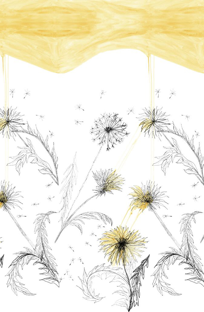 Painting Dandelions