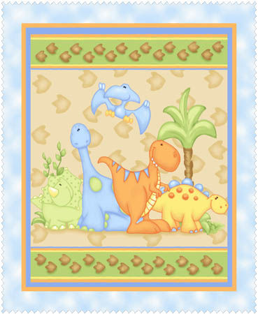 Land Before Time Flannel